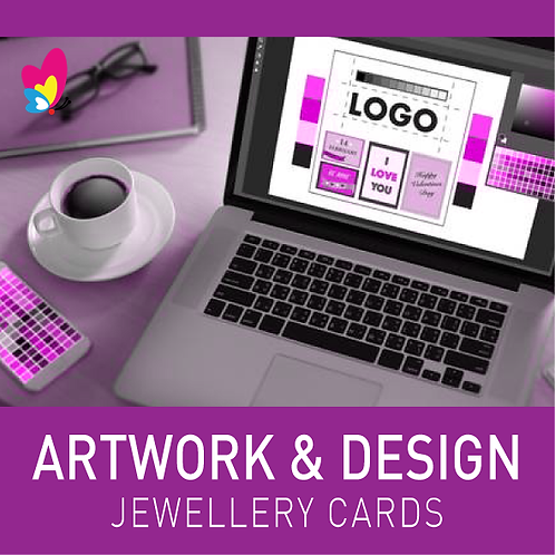 Artwork Design for Jewellery Cards