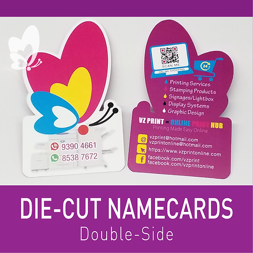 Die-Cut Namecards (DS)