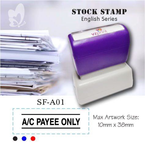 Stock Stamp SF-A01