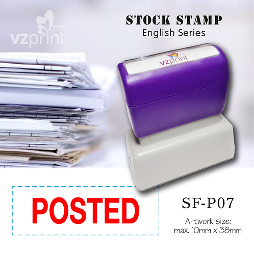 Stock Stamp SF-P07