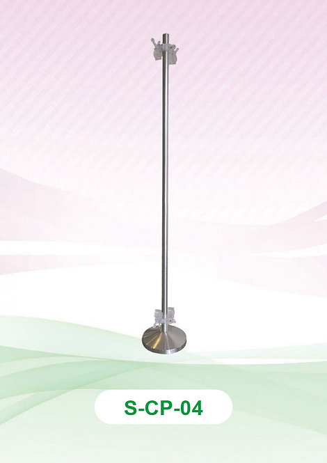 Clip Pole - Stainless Steel (Non-Adjustable) :