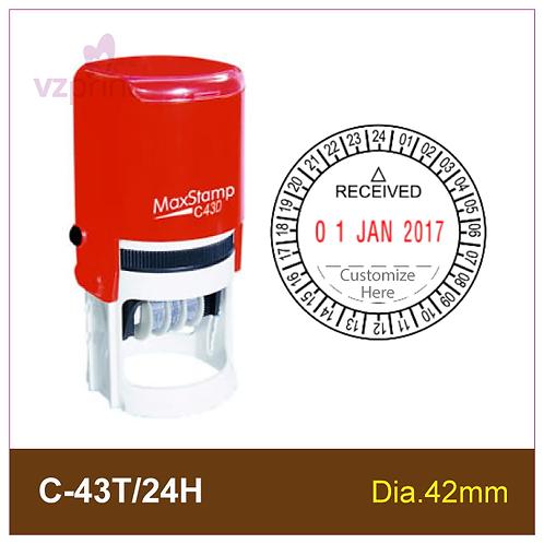 MAX Dater Stamp C-43T/24H