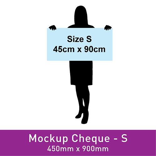 Mockup Cheque (450x900mm)