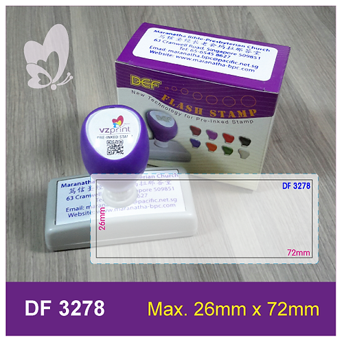Flash Stamp DF3278