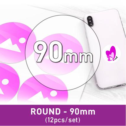 Label Sticker - Round 90mm