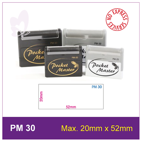Flash Stamp PM-30