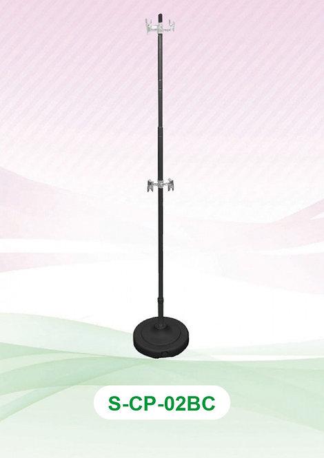 Clip Pole - Aluminium Black (Adjustable)