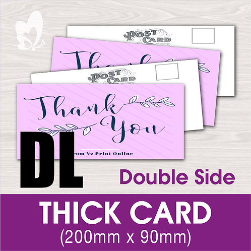 THICK CARD DL (DS)