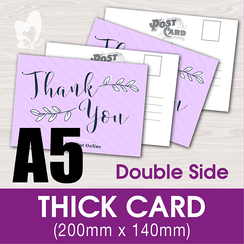 THICK CARD A5 (DS)