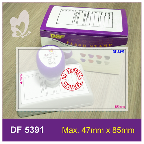 Flash Stamp DF5391