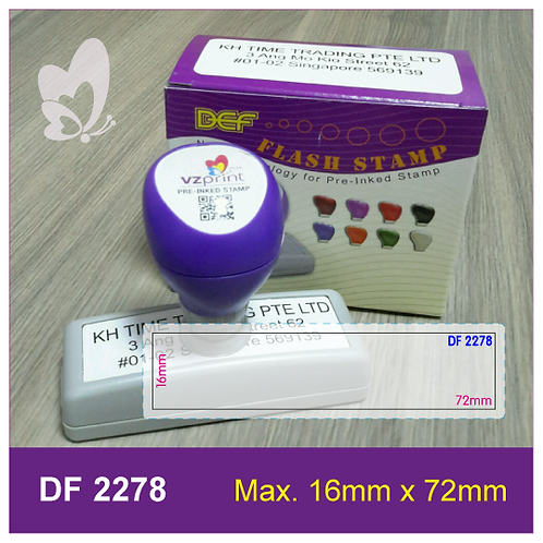 Flash Stamp DF2278
