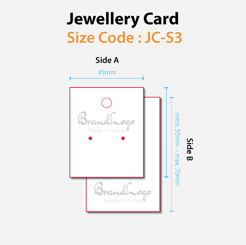 Jewellery Cards (JC-S3)