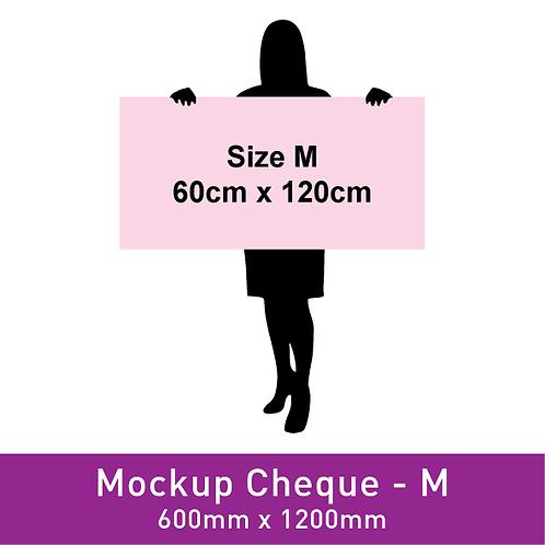 Mockup Cheque (600x1200mm)