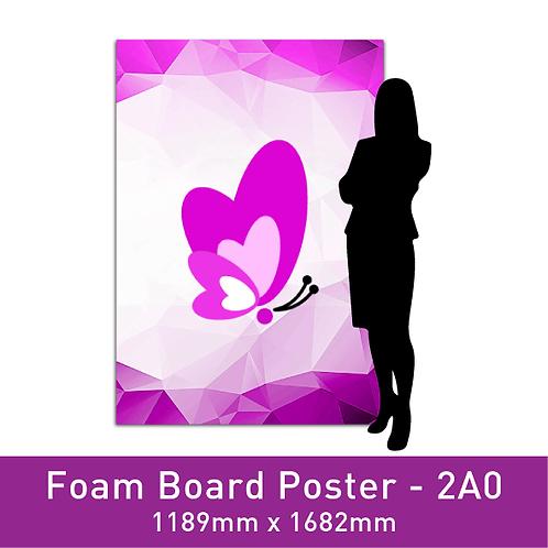 Foam Board Poster - 2A0