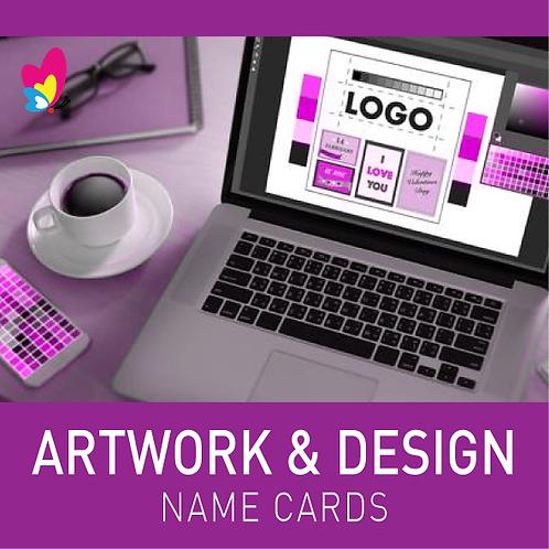 Artwork Design for Name Cards
