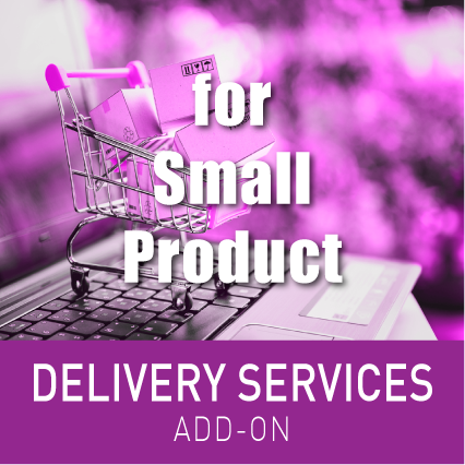 DELIVERY SERVICE FOR SMALL PRODUCTS