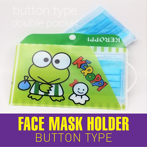 FACE MASK HOLDER (Button Type)