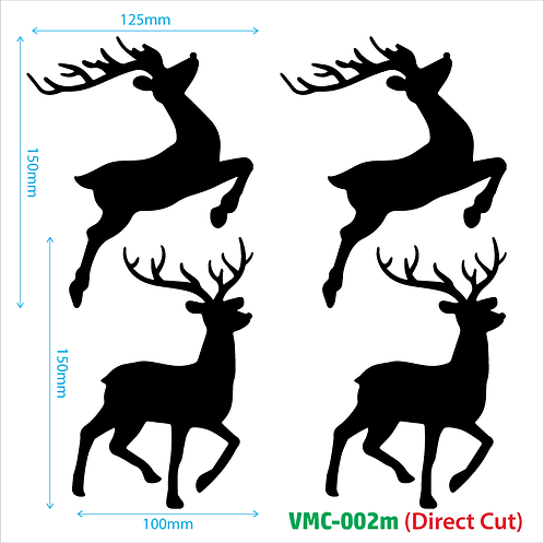 Vinyl Sticker Deco - VMC002m (direct cut)