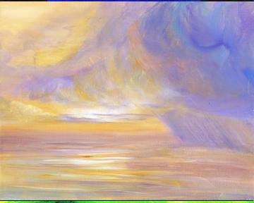 Stormy Beach Sunrise