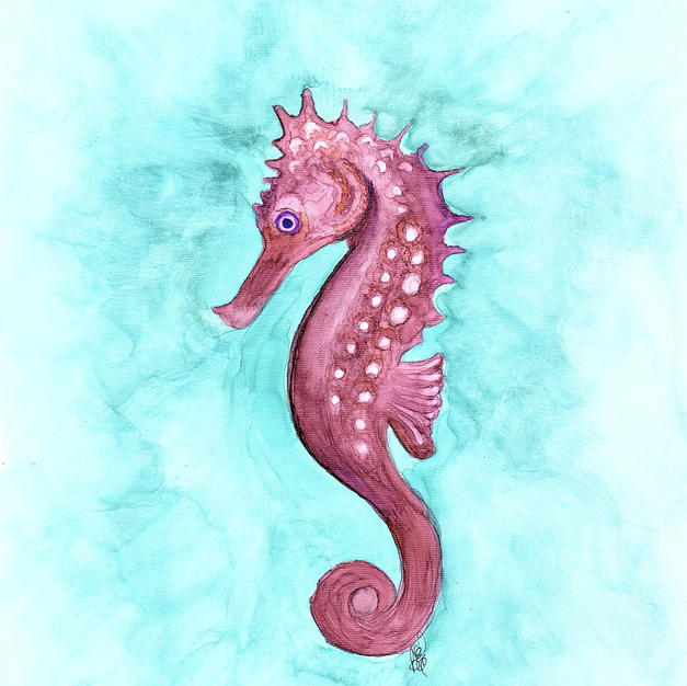 Seahorse pink