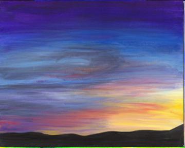 Technicolor Cloudscape