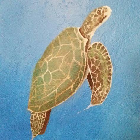Sea Turtle - mural