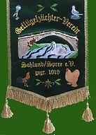 wimpel, grün, Geflügel, Tiere, Huhn, Hahn, Henne, Sohland, Sohland an der Spree, Schwan, Himmelsbrücke, Tauben, Gänse Geflügelzüchter, Verein