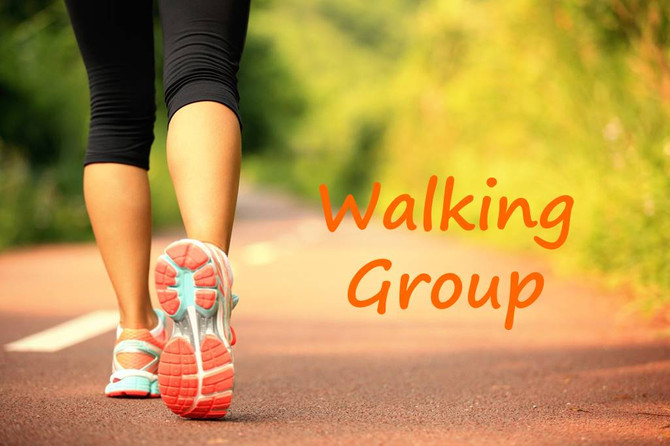 """Join us in taking """"Steps To Give Back"""" - Virtual Walking Group"""