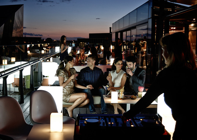 Celebrate New Year's Eve on Rooftop at The Marker Dublin