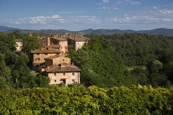 It'sharvest time atIl Borroin Tuscany