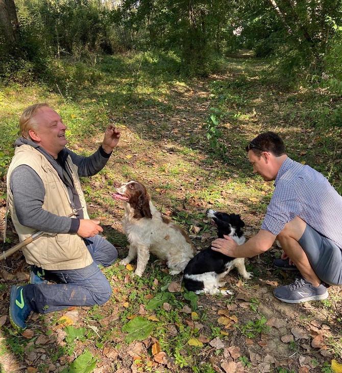 Tis the Season for Truffle Hunting