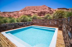 Swimming pool at Hotel Alto Atacama Dese