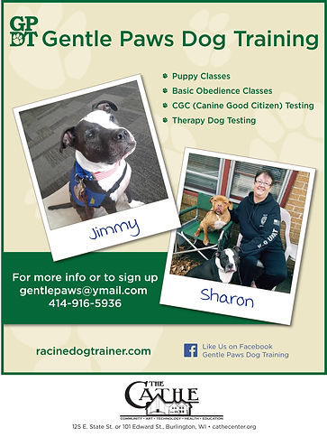 Flyers, Gentle Paws Dog Training.jpg