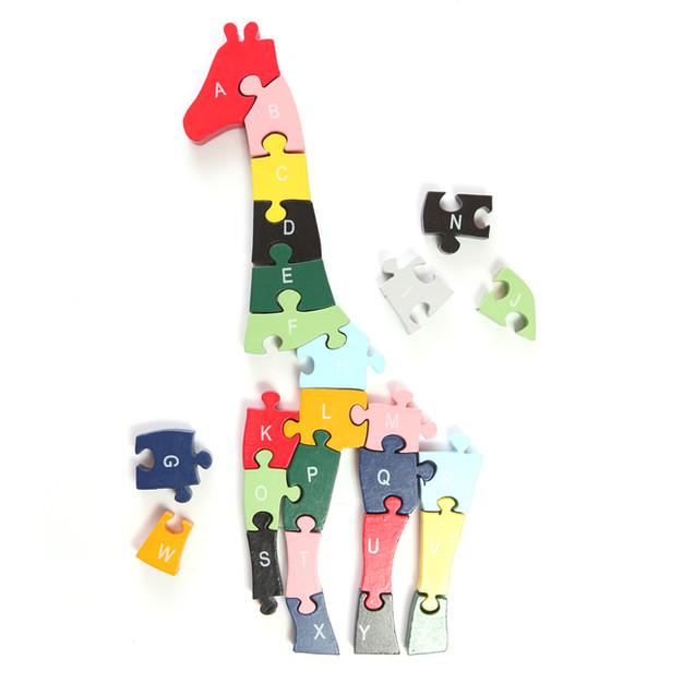 Puzzle 2 incomplète girafe