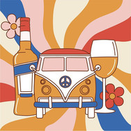 Little bus I drew for an Aperol Activati