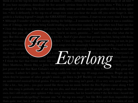 "New Guitar Lesson / Transcription: ""Everlong"" by Foo Fighters"