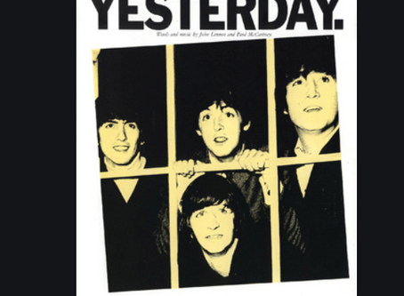 "New Guitar Lesson / Transcription: ""Yesterday"" by the Beatles"