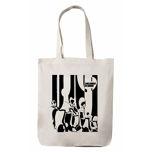 """""""The World is Yours"""" Canvas Tote Bags"""