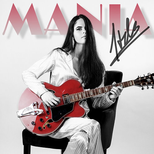 MANIA ALBUM VINYL LP + AUTOGRAPH