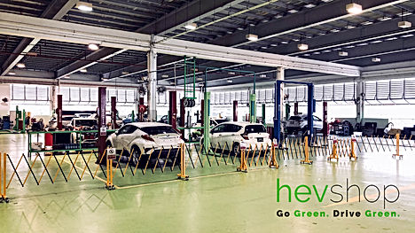 A view of our hevshop workshop