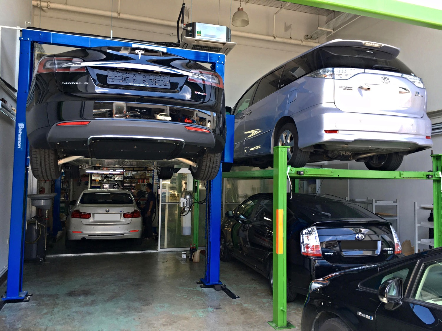 hybrid car repair workshop singapore