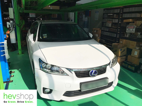 Here's how our Lexus Servicing Specialists Replace the Lexus CT200h Hybrid Battery