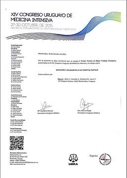 XIV Congreso Uruguayo de medicina intensiva