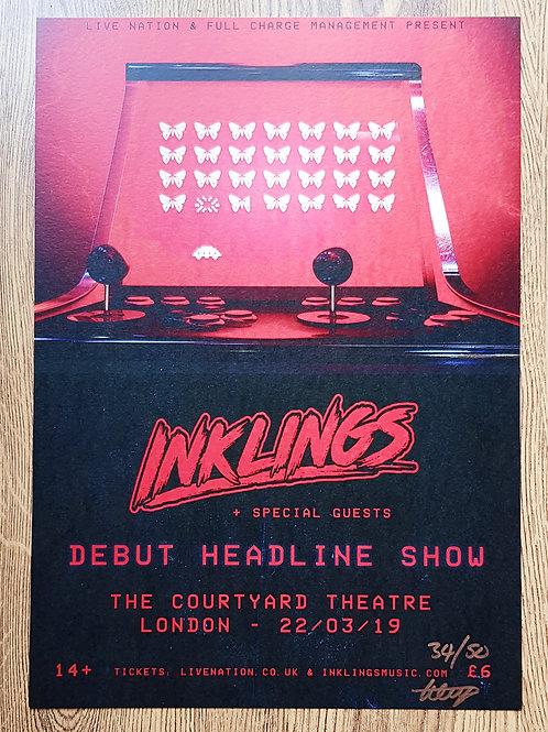 Inklings Headline Show Art Print