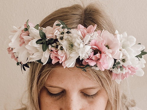 Fresh Flower Crowns Wild Cosmo Flowers