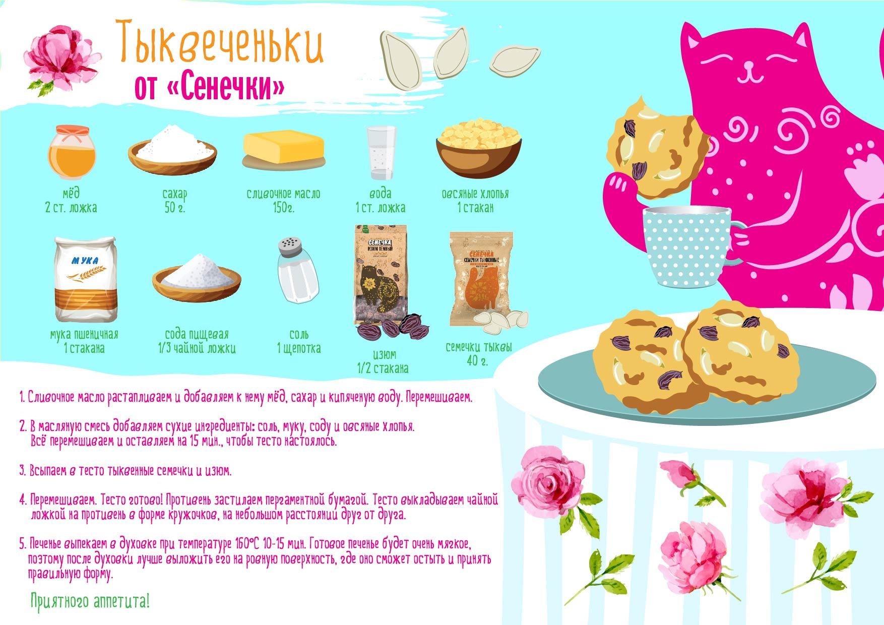 Рецепт с продуктом бренда
