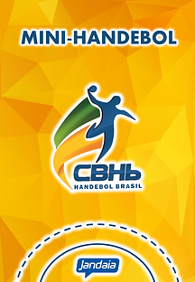 Mini-Handebol CBHb Jandaia Cadernos - Ap