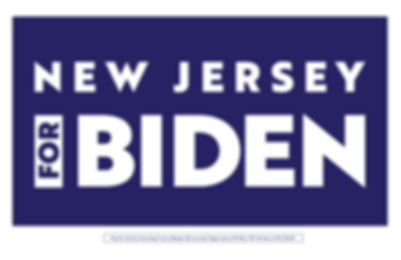 New Jersey for Biden Signs
