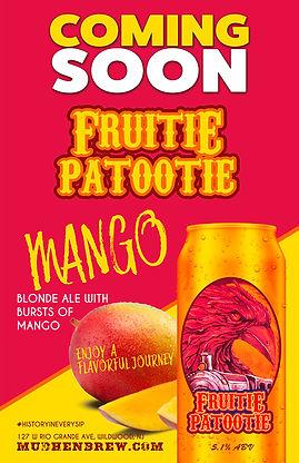 Fruitie Patootie Mango