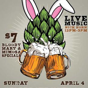 Hop on over to Easter Brunch!